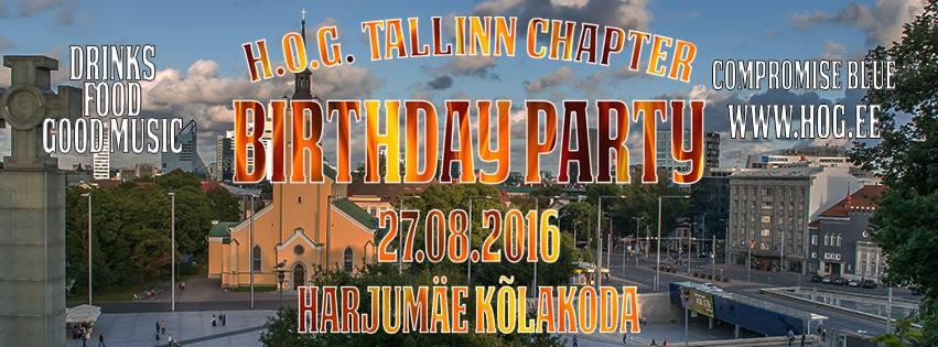 H.O.G. Tallinn Chapter Birthday Party
